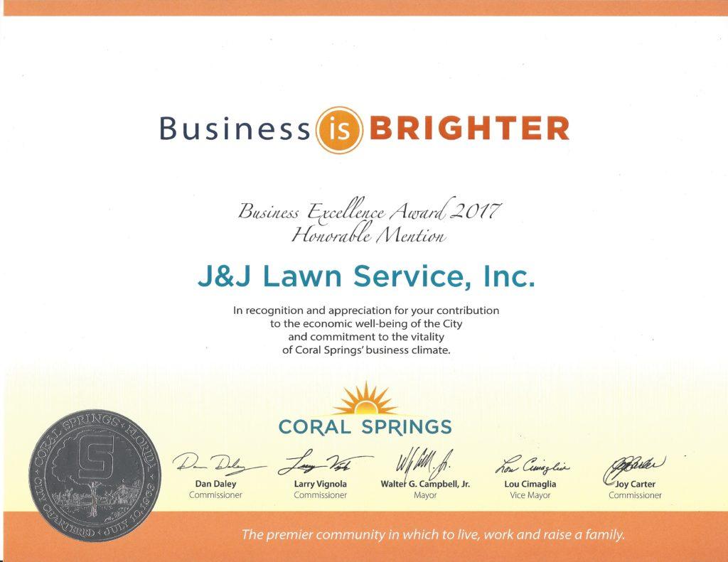 2017 Business Recognition Program