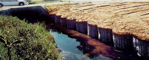 """BARREL SHAPED GABIONS """"MARINE CELLS""""  USED IN FLOOD CONTROL PROJECTS"""