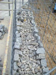 Build a Gabion Fence 10