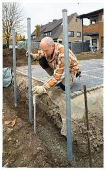 Build a Gabion Fence 4