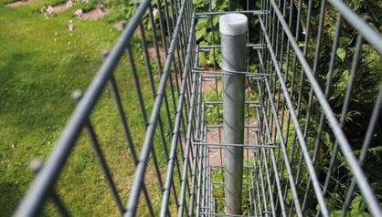 Build a Gabion Fence 7