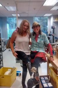 Brooke-Artesi-Niki-Rellon-at-Sunshine-prosthetics-and-orthotics