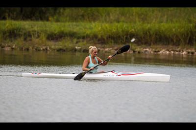 Brooke Artesi kayaking at Extremity Games 2013 - Sunshine Prosthetics and Orthotics, Wayne NJ