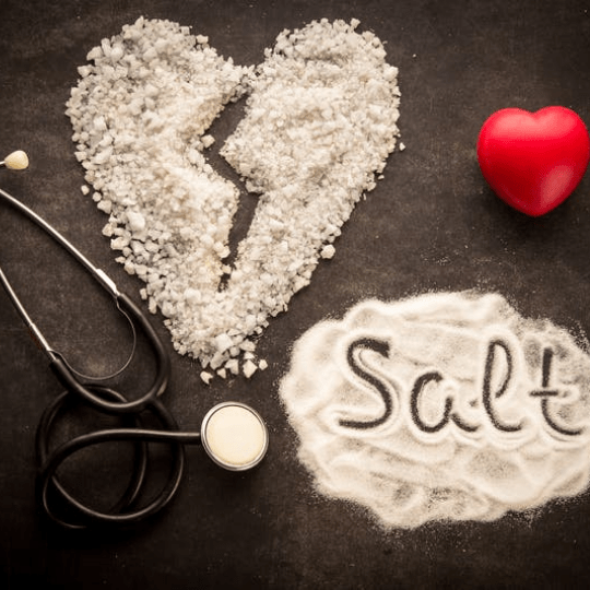 Tuz miktarı kalp sağlığı için önemlidir.