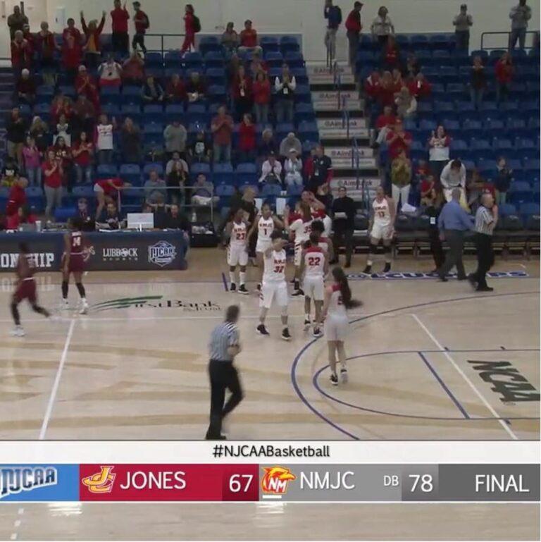 NMJC Lady T-Bird Basketball Advances to the NJCAA Elite 8