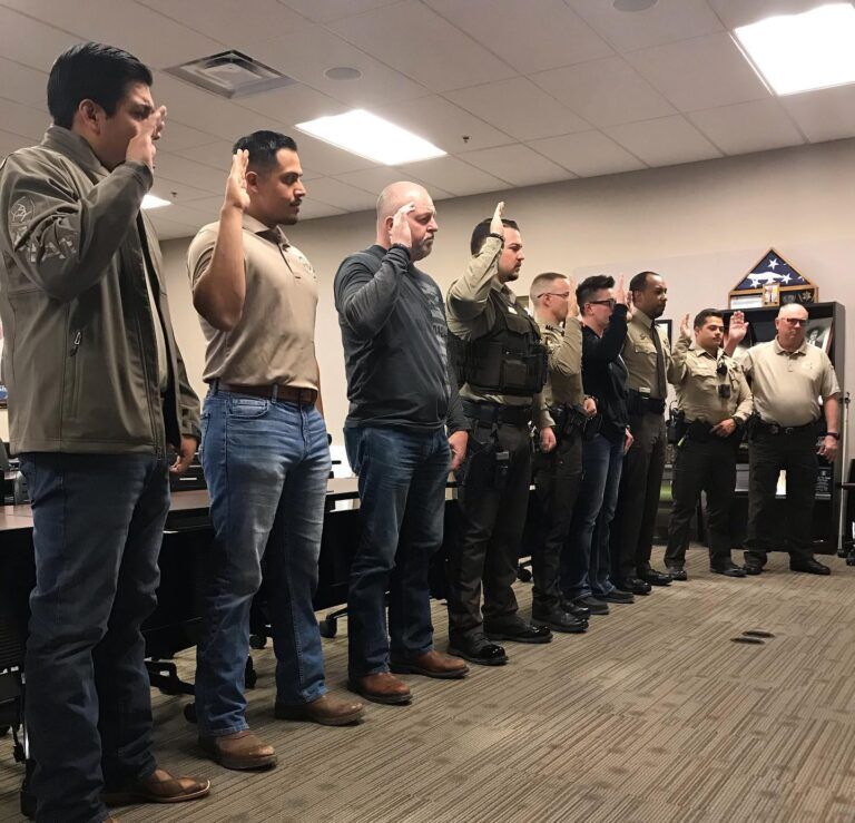 NINE LEA COUNTY SHERIFF'S DEPUTIES DEPUTIZED AS US MARSHAL TASK FORCE OFFICERS