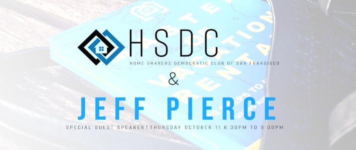 Jeff Pierce to Speak at HSDC Meeting – San Fransisco
