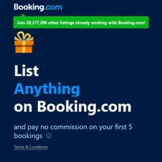 Master of Vacation Rentals is now an Affiliate Partner with Booking.com!