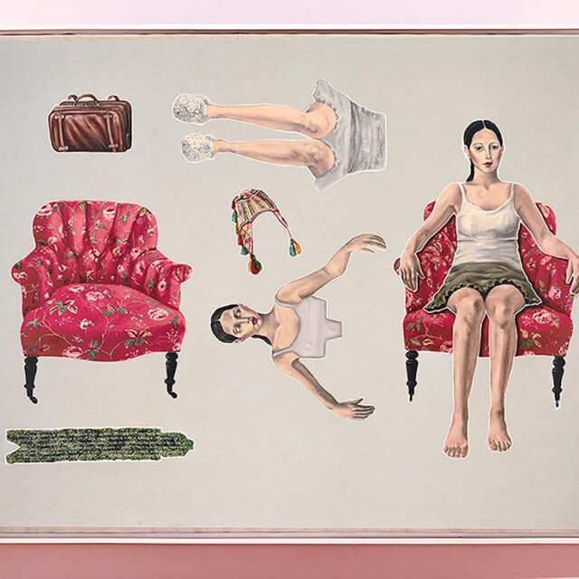 ISOLATED PORTRAIT Óleo sobre tela Oil on canvas 140 x 207 cm