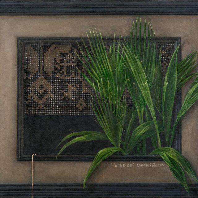 INTERIOR Óleo sobre tela / Oil on canvas 50 x 60 cm