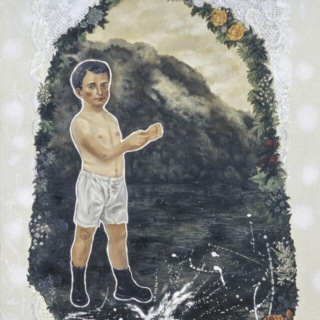 GREETING CARD Óleo sobre tela / Oil on canvas 130 x 100 cm