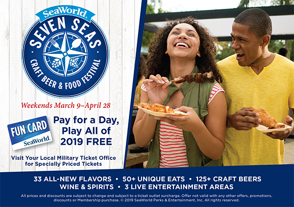 SeaWorld – Seven Seas Festival (Military Specialty Tickets Available)