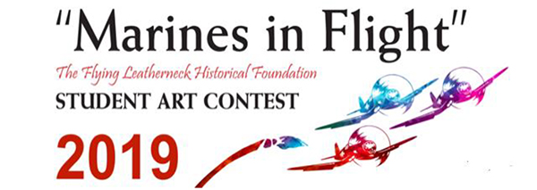 "Flying Leathernecks Announce the 2019 ""Marines in Flight"" Student Art Contest"