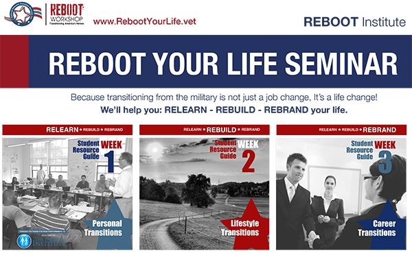 REBOOT YOUR LIFE SEMINAR – 12/18/19