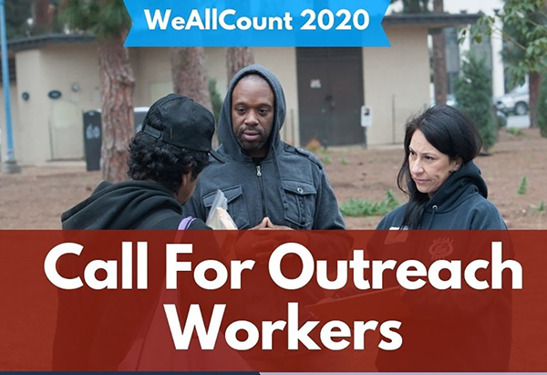 Call For Outreach Workers (We All Count 2020)