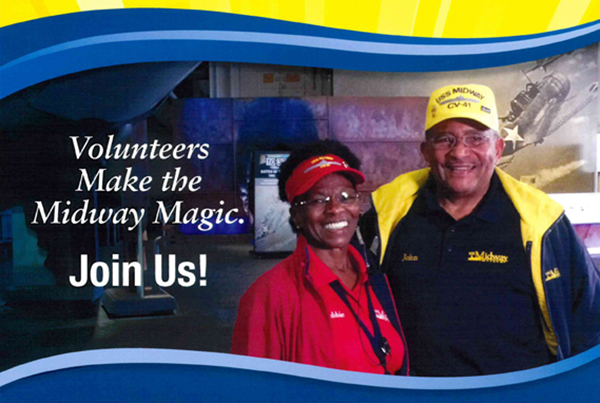 Live the Legacy as a USS Midway Museum Volunteer
