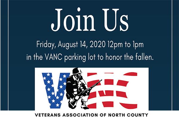 VANC Remembrance Ceremony Aug 14th