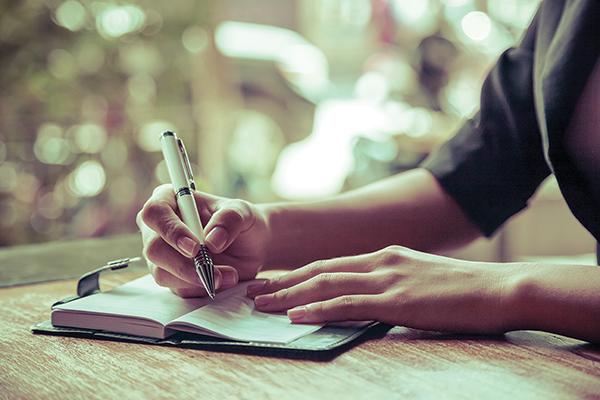 The power of writing through tough times