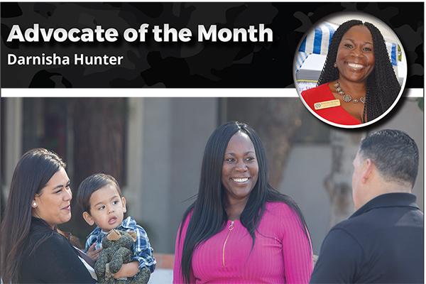 Darnisha Hunter – Advocate of the Month