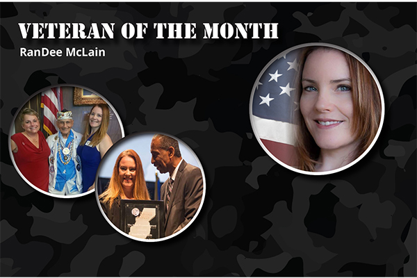 RanDee McLain – Veteran of the Month