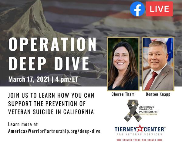 Empowering California to Prevent Military Veteran Suicide