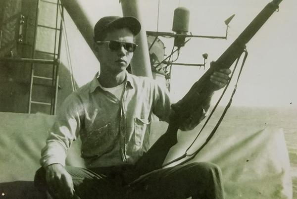 "USS Midway Museum Volunteer – William ""Woody"" Woodward"