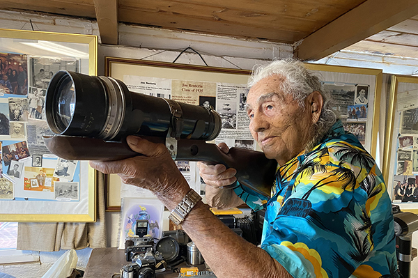 Joe Renteria: Runaway to Soldier, Sailor, Photographer and Hero