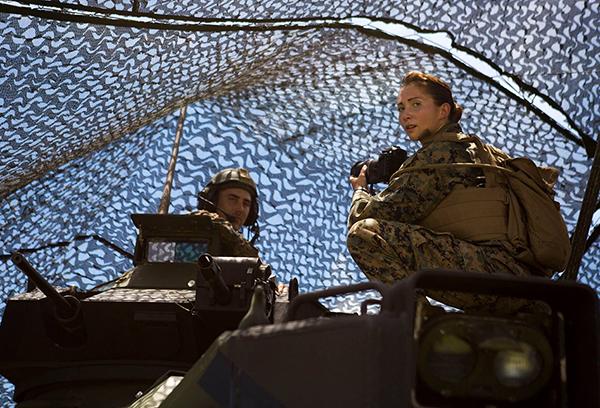 Veteran of the Month – Jessica Quezada, Marine Veteran