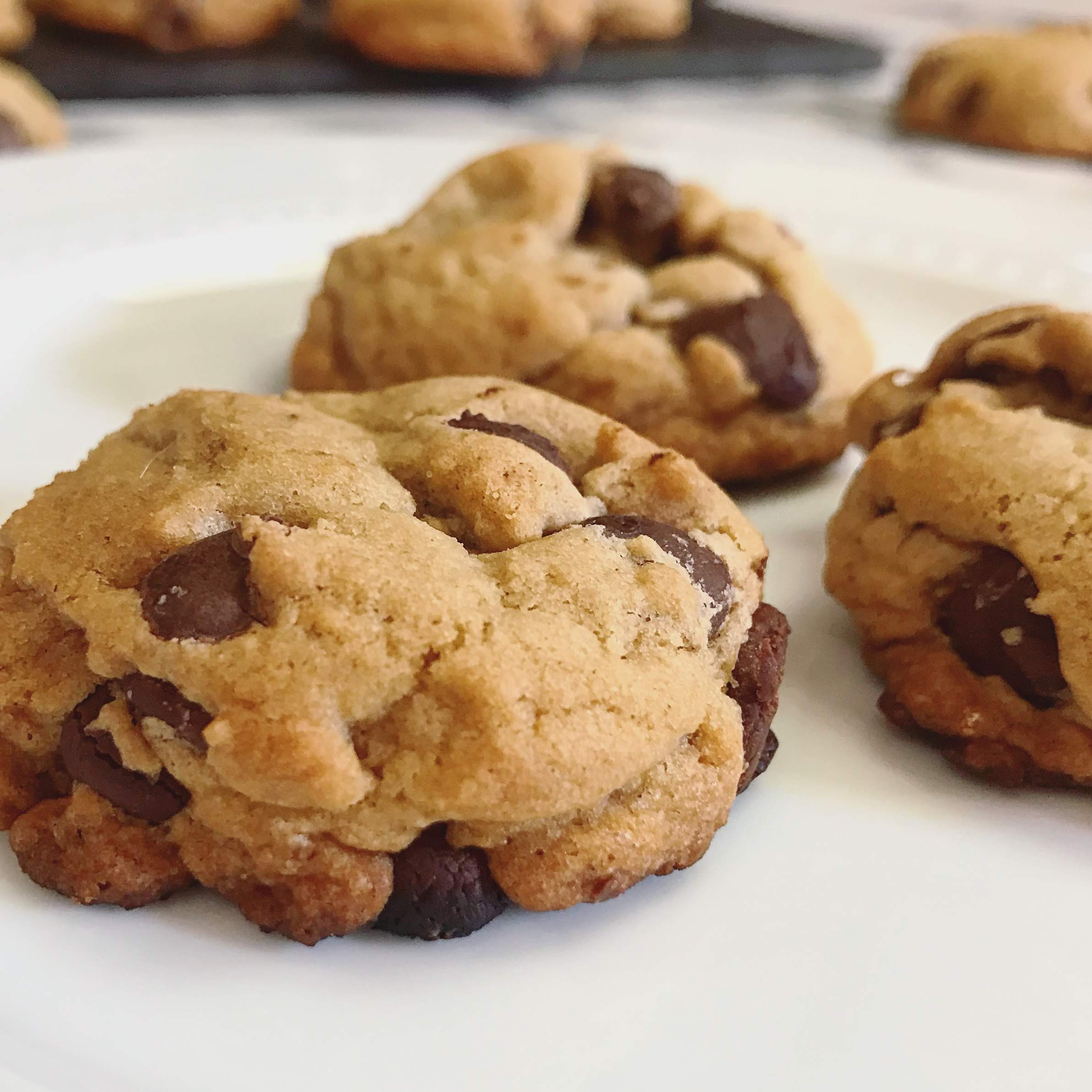 Chocolate Chip Cookies || Life Above the Clouds