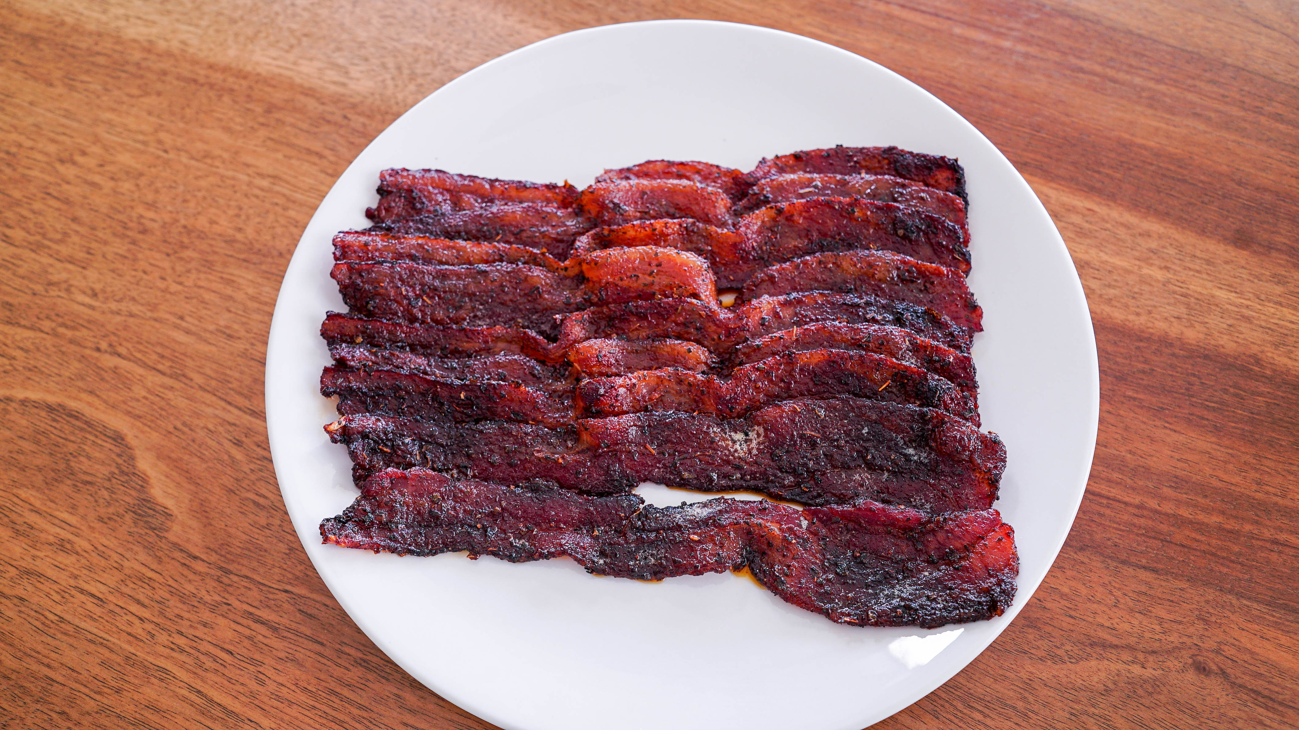 Cannabis Candied Bacon - take your tailgating snacks to a whole new level!   laurengaw.com/lifeabovetheclouds
