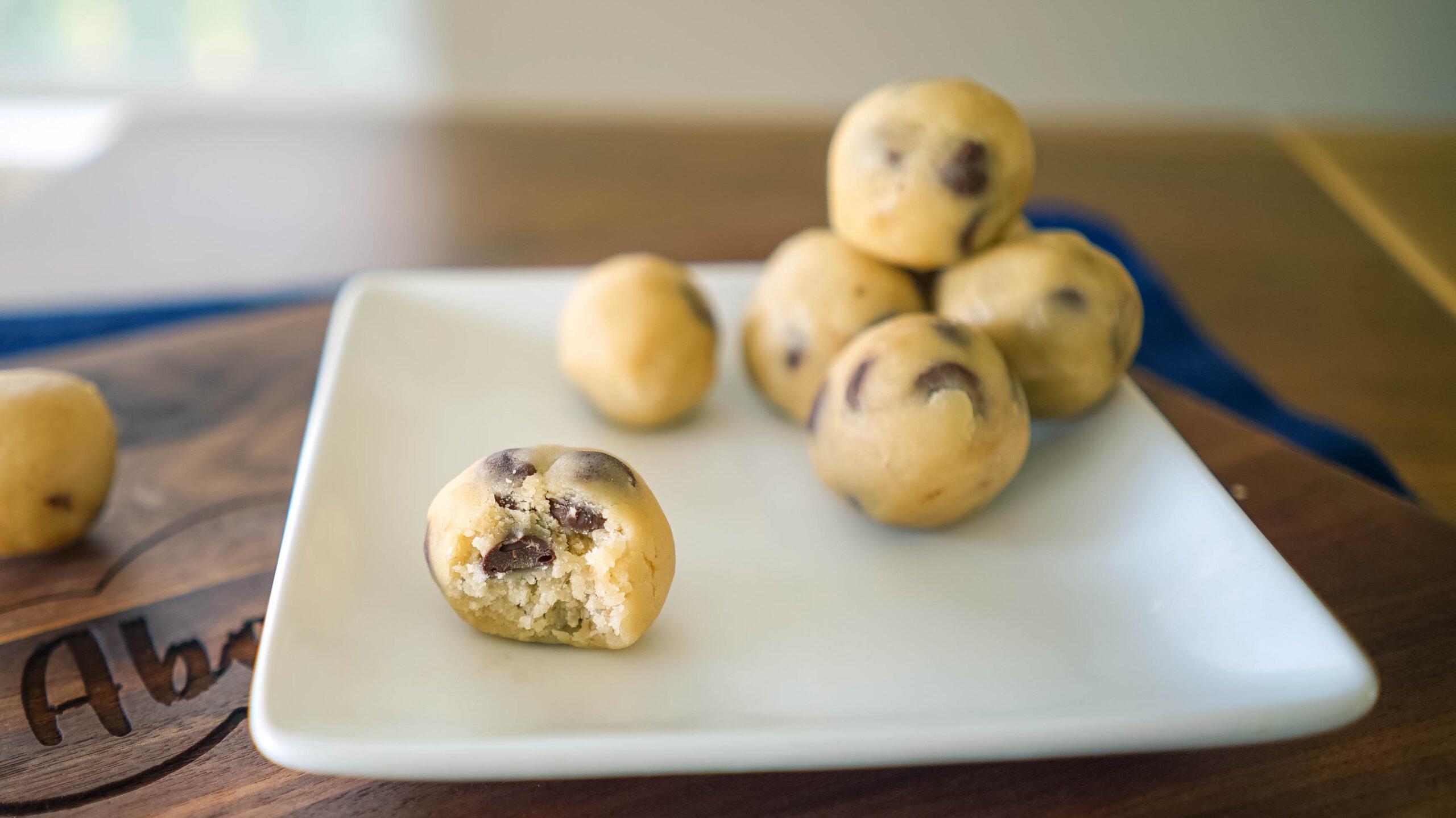 Cannabis Cookie Dough Balls