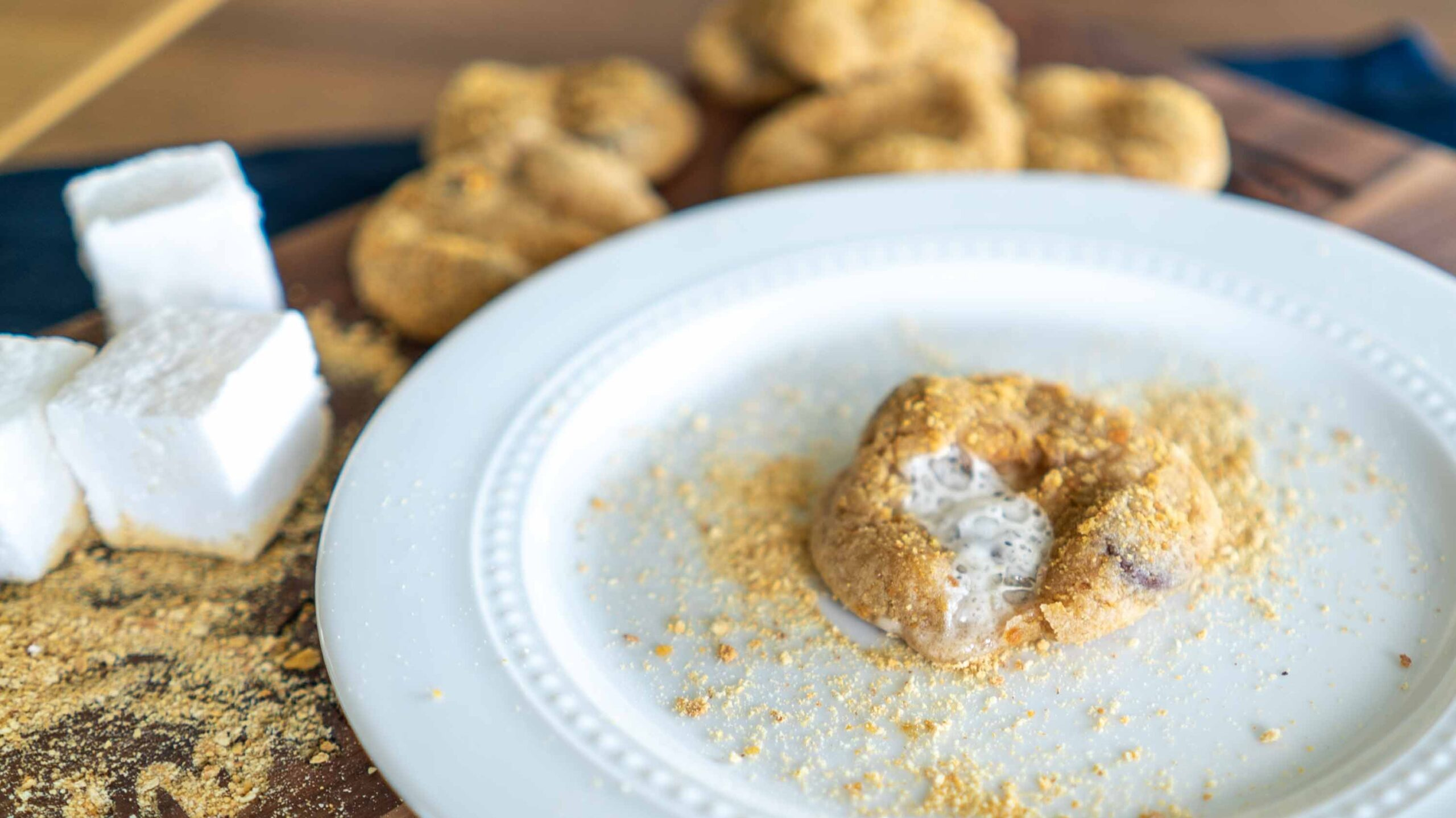 S'mores Cookies || Live Above the Clouds