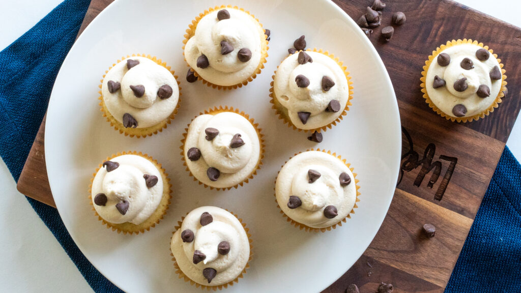 Chocolate Chip Cupcakes || Life Above the Clouds