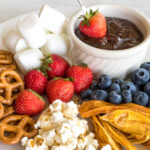 Chocolate Fondue || Life Above the Clouds