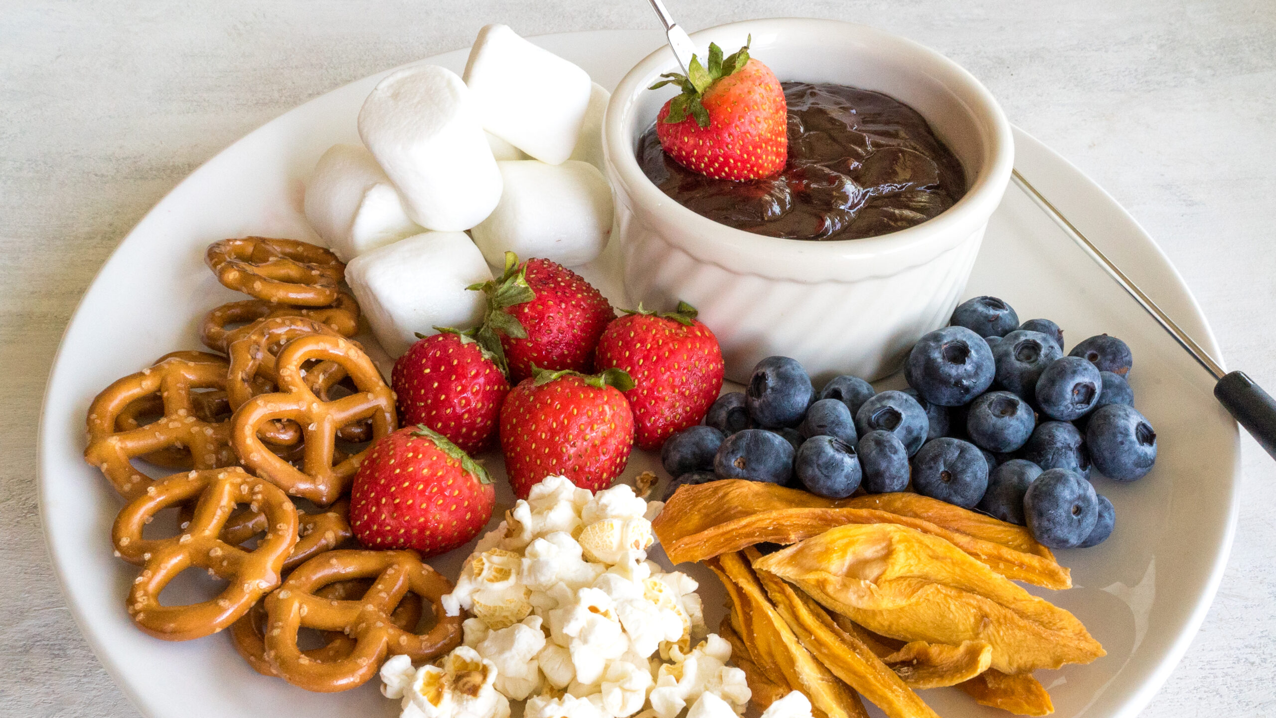 Chocolate Fondue    Life Above the Clouds