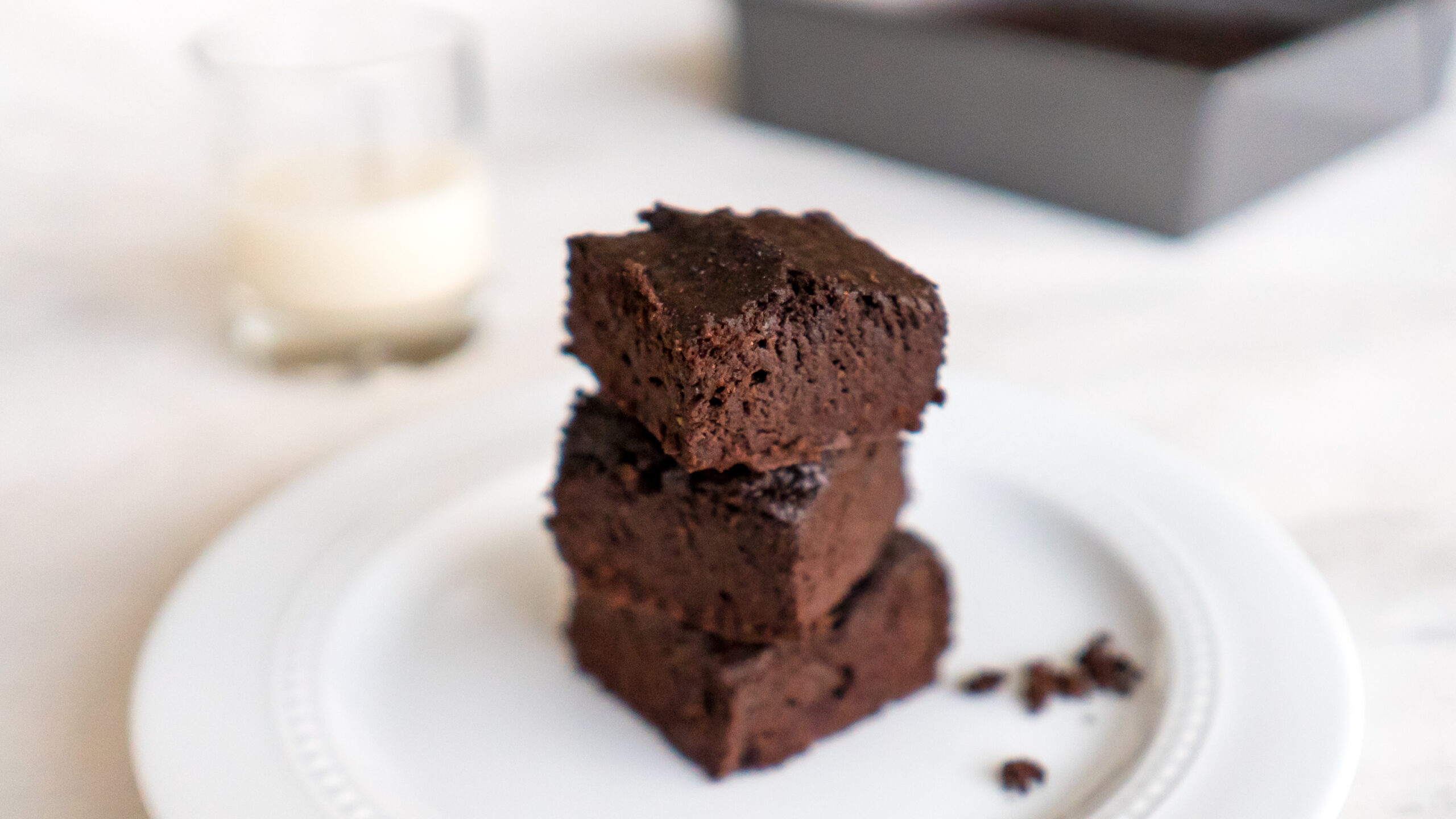 Avocado Brownies || Life Above the Clouds