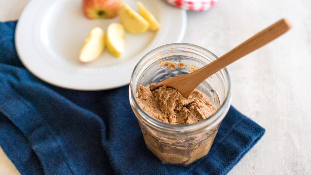 Maple Cinnamon Almond Butter || Life Above the Clouds