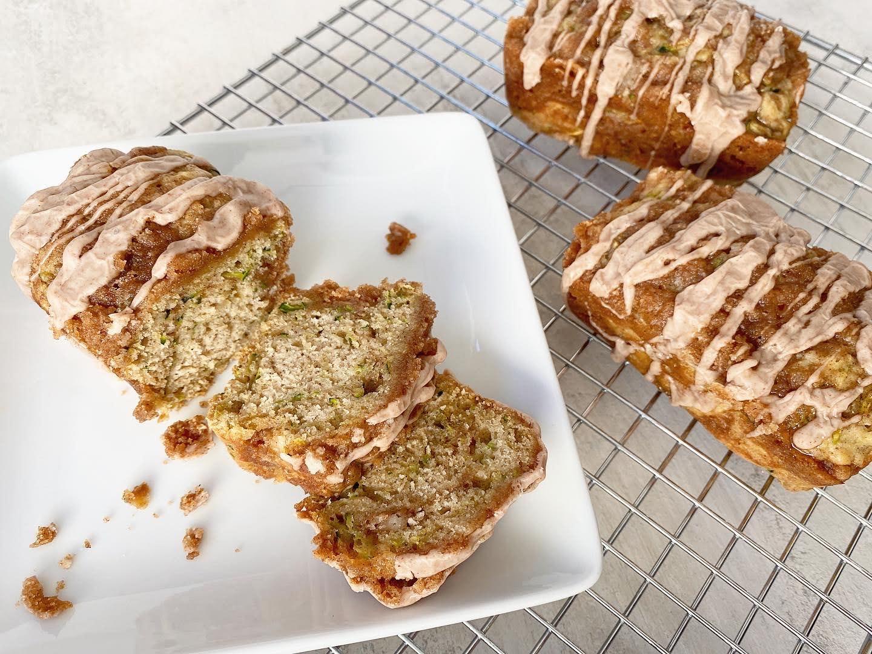 Cinnamon Swirl Zucchini Bread || Life Above the Clouds