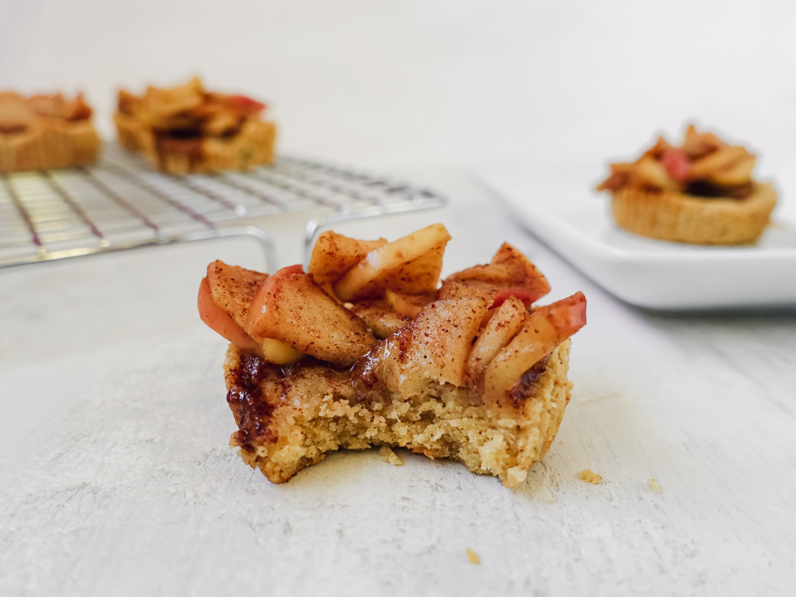Healthy Mini Apple Pies