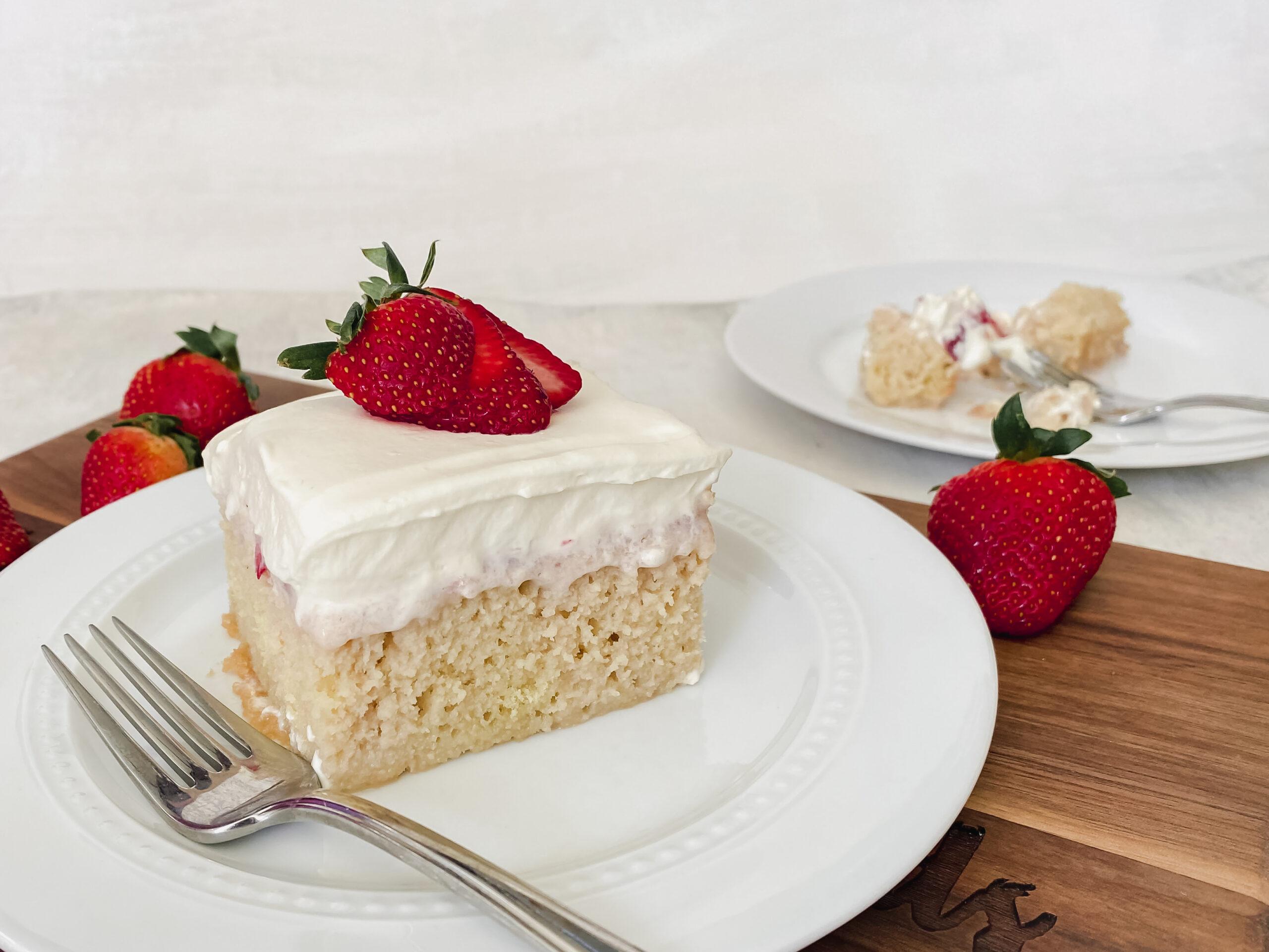 Strawberry Tres Leches Cake