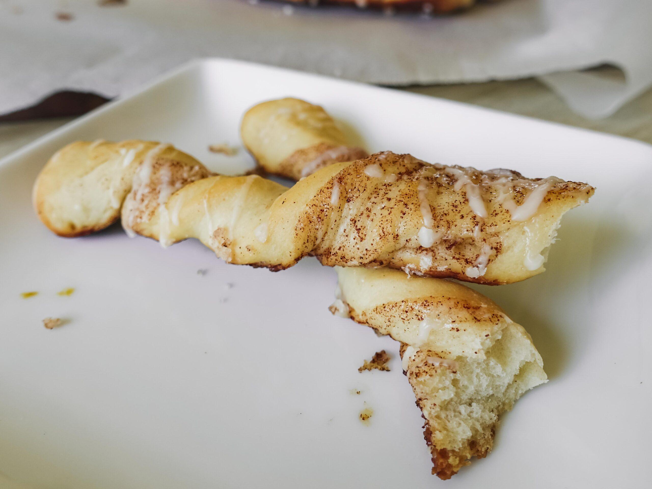 Cinnamon Sugar Bread Twists