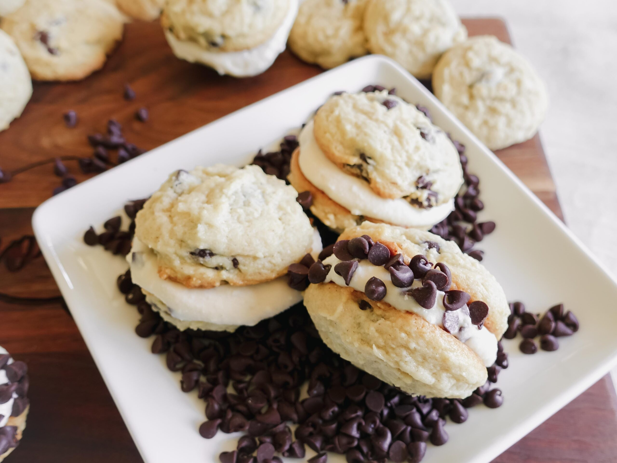 Cannoli Sandwich Cookies