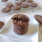 Chewy Chocolate Cannabis Crinkle Cookies