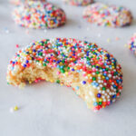 Birthday Cake Confetti Cookies    Life Above the Clouds