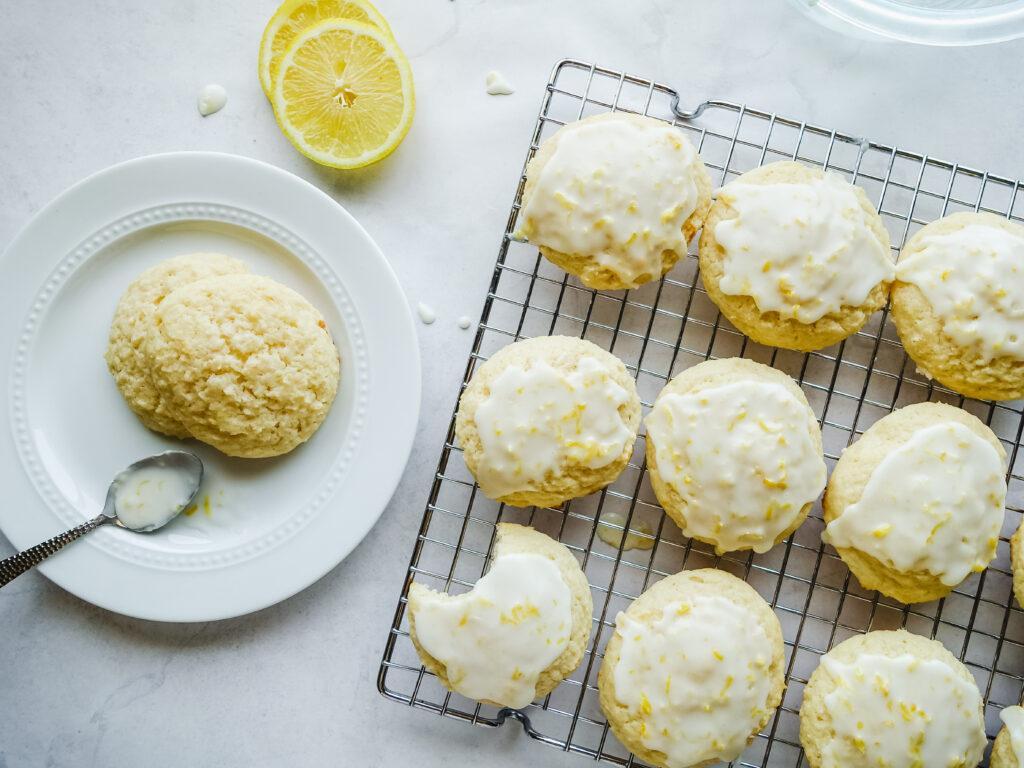 Greek Yogurt Lemon Cookies    Life Above the Clouds