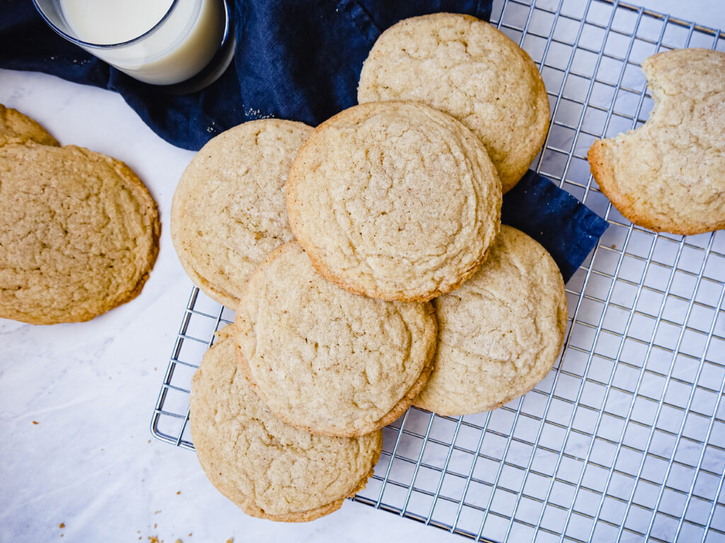 Brown Butter Sugar Cookies    Life Above the Clouds