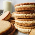 Maple Cream Sandwich Cookies    Life Above the Clouds