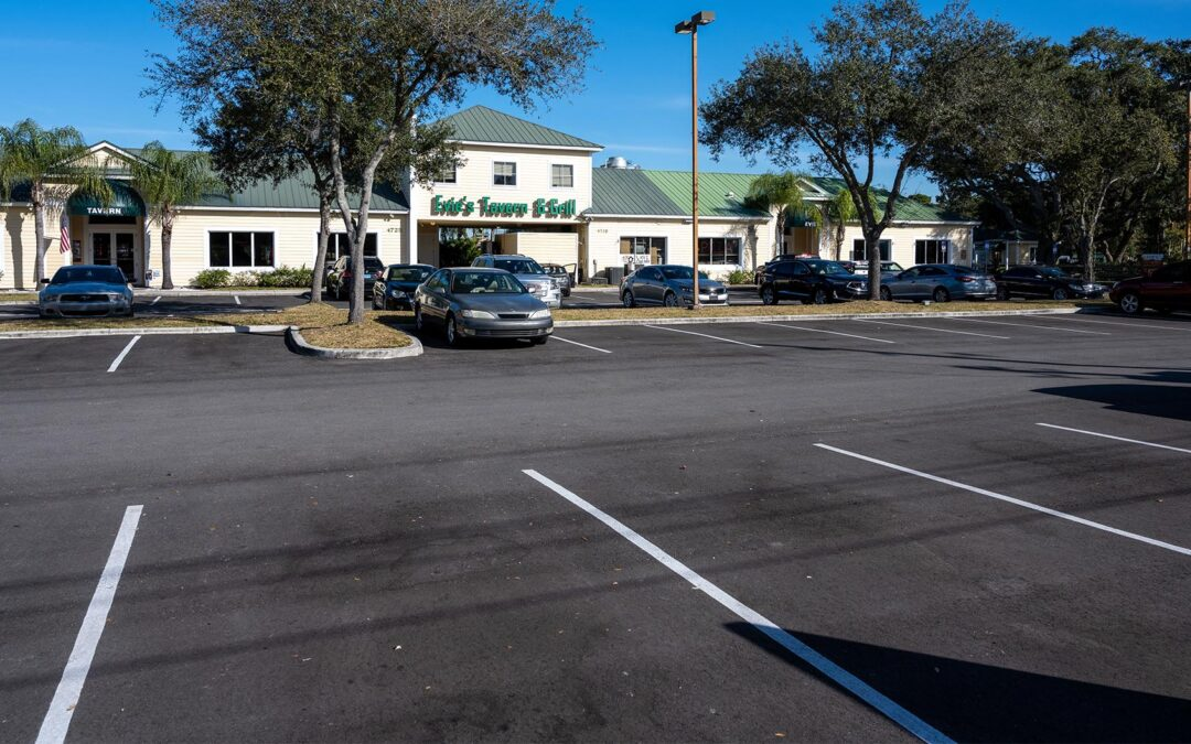 Parking Lot Paving Steps