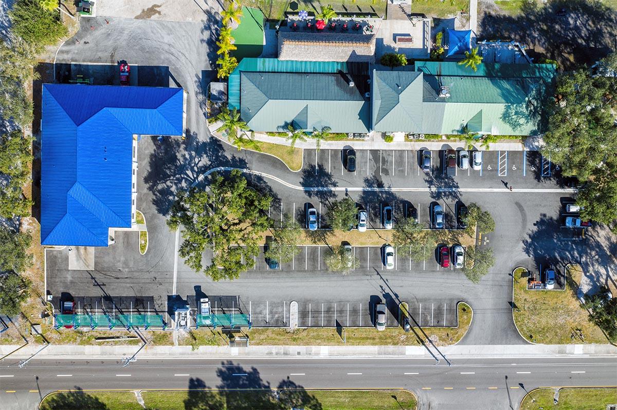 Sarasota parking lot paving