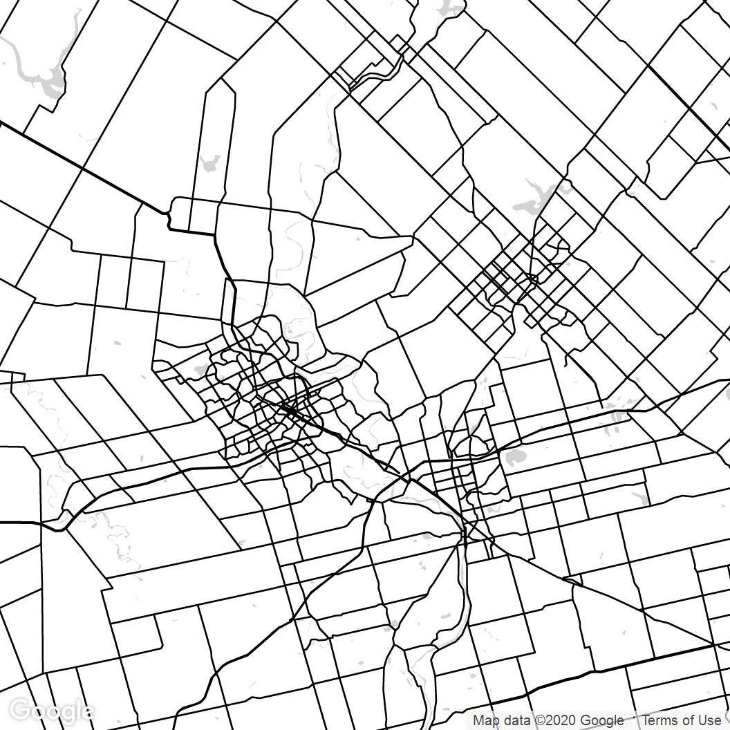Kitchener-Waterloo-Map